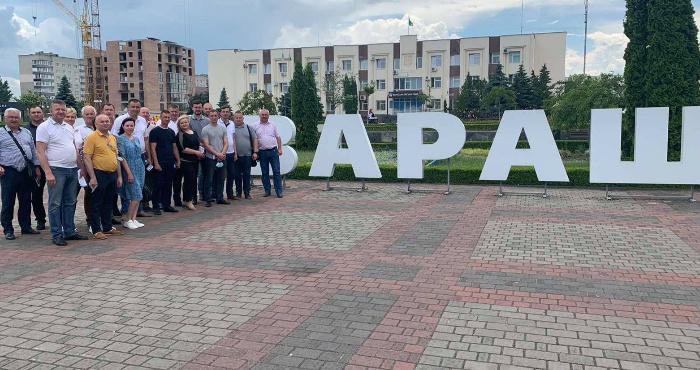 Асоціація «ОТГ Рівненщини» провела своє виїзне засідання у Вараському районі