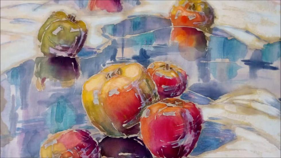 Робота «Яблука на снігу»
