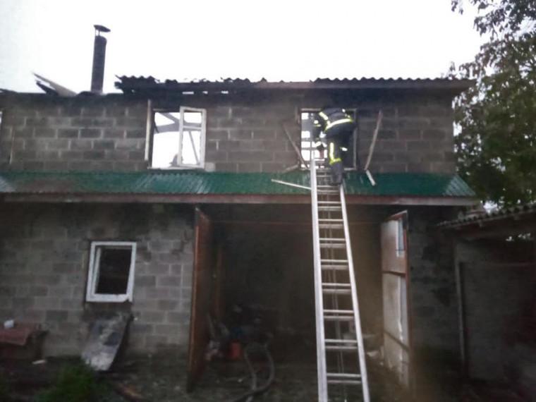 Пожежа в Зарічному