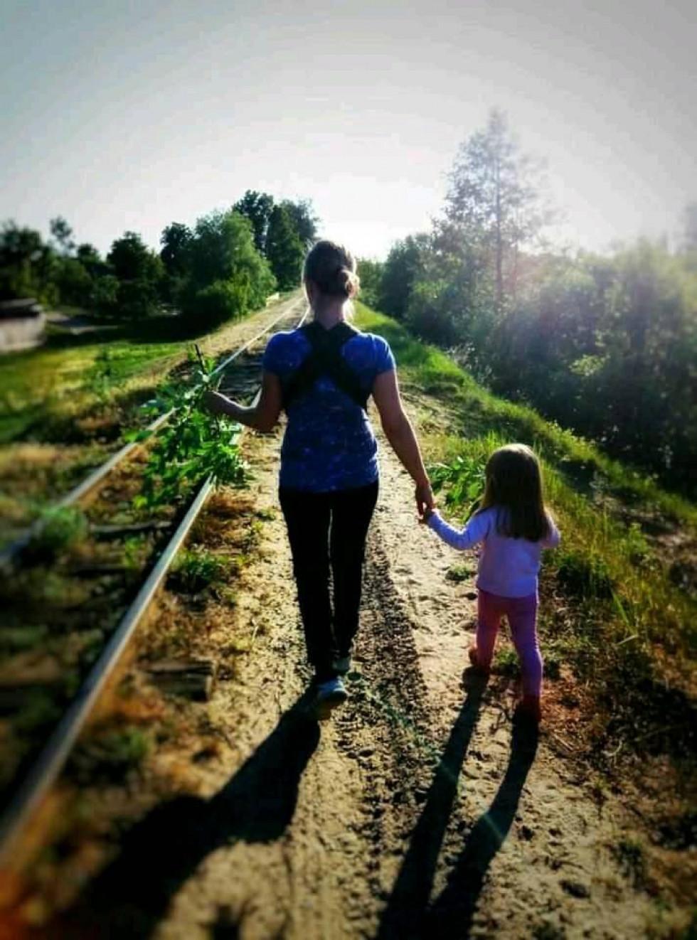 Після першої і єдиної мандрівки доньки «кукушкою» повертаємось додому